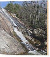 The Upper Cascade Wood Print