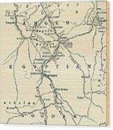 The Upper Nile Wood Print