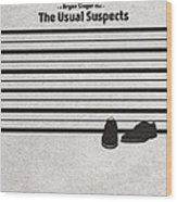 The Usual Suspects Wood Print
