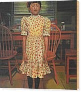 The Valentine Dress Wood Print