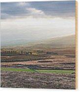 The Valleys In Wicklow Ireland Wood Print