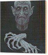 The Vampire Wood Print