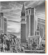 The Venetian Resort Hotel Casino Wood Print