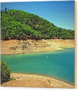 The View At Shasta Lake Wood Print