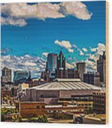 The View That Made Milwaukee Famous Wood Print