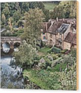The Village Wood Print by Olivier Le Queinec