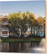 The Villas Of Walt Disney World Wood Print
