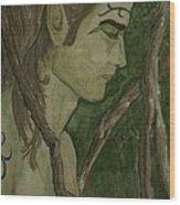 The Vine King Wood Print