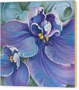 The Violet Wood Print