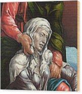 The Virgin And Saint John The Evangelist Wood Print