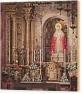 The Virgin Of Hope Wood Print