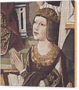 The Virgin Of The Catholic Monarchs Wood Print