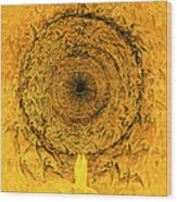 The Vision Of The Empyrean Wood Print