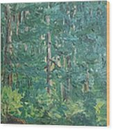 The Vosges Forest Wood Print
