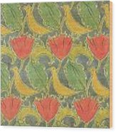 The Voysey Birds Wood Print