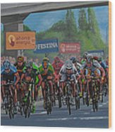 The Vuelta Wood Print