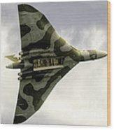 The Vulcan Bomber  Wood Print