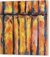 The Waall Wood Print