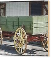 The Wagon Wood Print