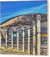 The Wales Millennium Centre Wood Print