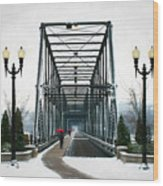 The Walking Bridge Wood Print