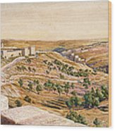 The Walls Of Jerusalem, 1869 Wood Print