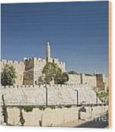 The Walls Of Jerusalem Old Town Israel Wood Print