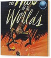 The War Of The Worlds Wood Print by Georgia Fowler