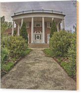 The Ward Mansion - Conway - Arkansas Wood Print