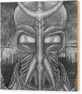 The Warrior Wood Print