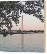 The Washington Monument  Wood Print