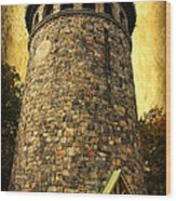 The Watch Tower Wood Print