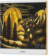 The Watcher Wood Print
