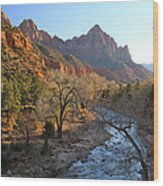 The Watchman Wood Print