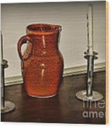 The Water Pitcher Wood Print