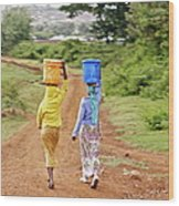 The Watercarriers Wood Print