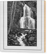 Moss Glen Falls Poster Wood Print