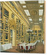 The Waterloo Gallery, Apsley House Wood Print
