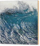 The Wave Wood Print