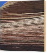 'the Wave' North Coyote Buttes 06 Wood Print