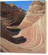 'the Wave' North Coyote Buttes 19 Wood Print