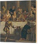 The Wedding At Cana Wood Print