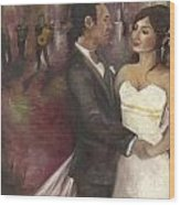 The Wedding Wood Print