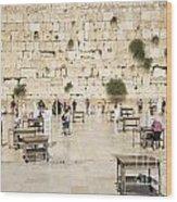 The Western Wall In Jerusalem Israel Wood Print