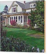 The Whalebone House Wood Print