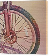 The Wheel In Color Wood Print by Jenny Armitage