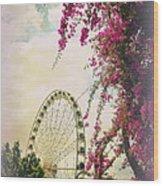 The Wheel Of Brisbane Wood Print