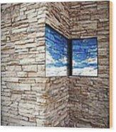 The Whisper Wall Wood Print