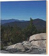 The White Mountains Wood Print by Steven Valkenberg