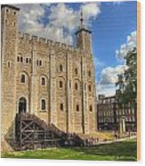The White Tower Wood Print